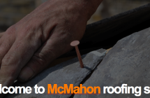 Traditional roof replacement using reclaimed roof tiles